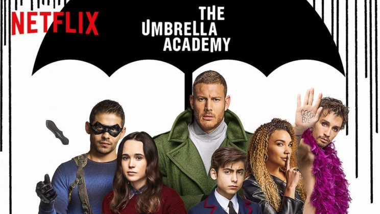 The umbrella Academy Netflix Gerard Way