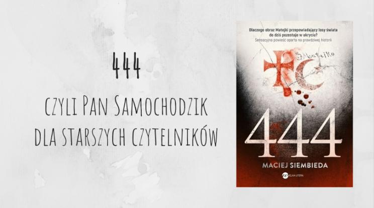 książka polska 444 MAciej Siembieda Jan Matejko
